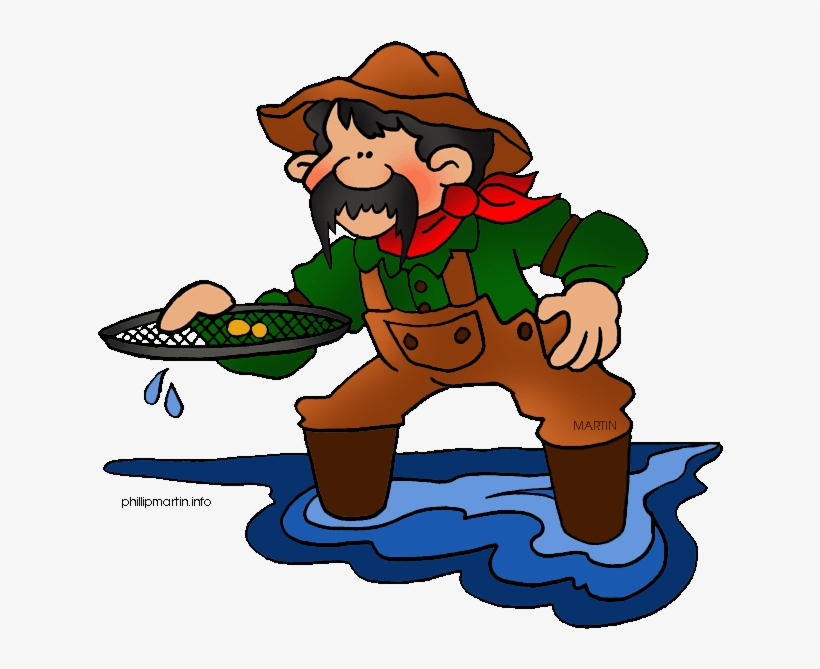 Compare & Contrast - California Gold Rush Clipart, transparent png #3371665