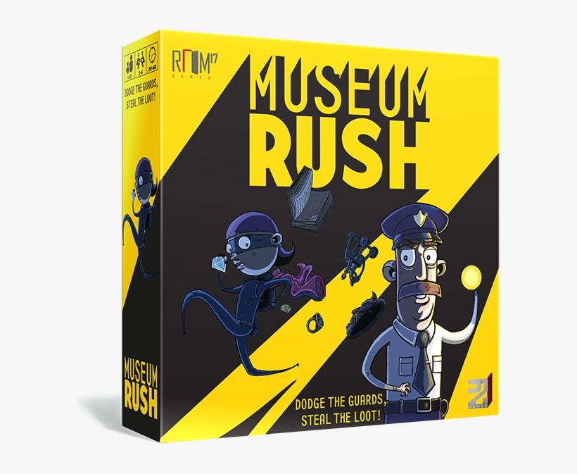 We Previously Reported On The Formation Of Room 17 - Museum Rush Board Game, transparent png #3371808