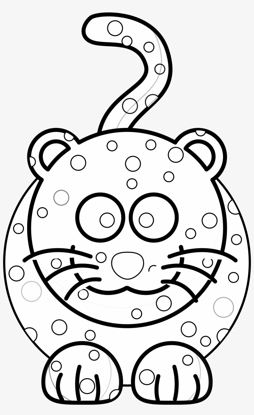 Stuffed Animal Clipart Clipart Best Bt5hub Clipart Easy To Draw Amur Leopard Free Transparent Png Download Pngkey