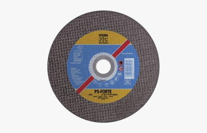 Ace Auto Scrapyard - Pferd 63554 9 X 045 Cut-off Wheel 7 8 Ah 1 9mm Type, transparent png #3374542