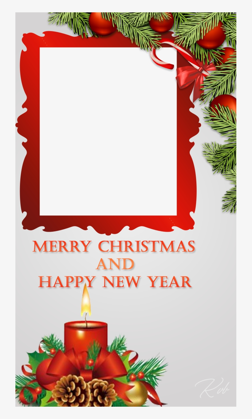 Free Download Happy Christmas Photo Frames Free Transparent Png Download Pngkey