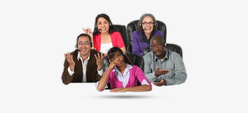 Customer Service People - Customer Service, transparent png #3376555