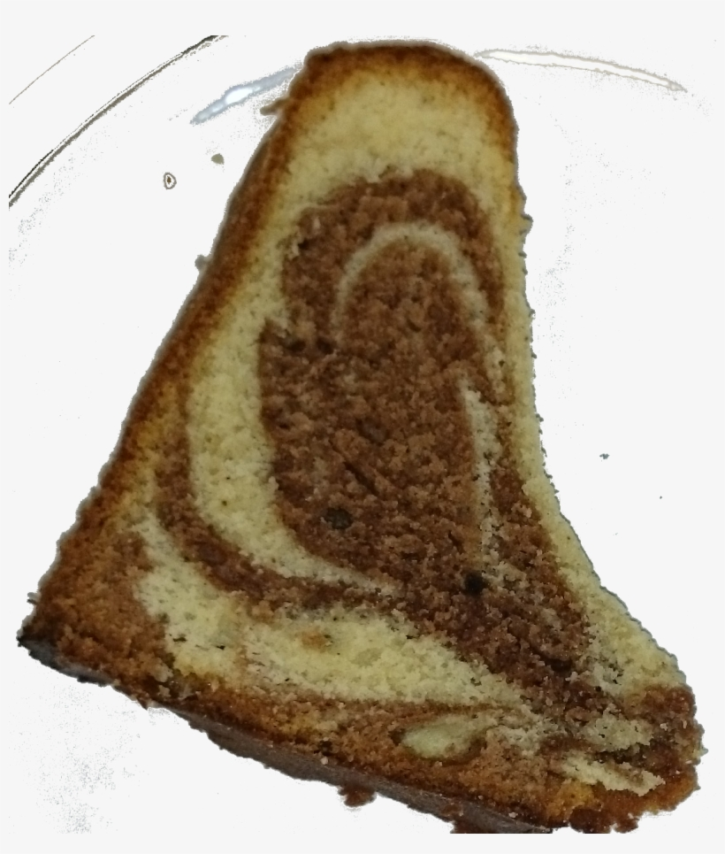 A Slice Of Gugelhupf - Food, transparent png #3377484