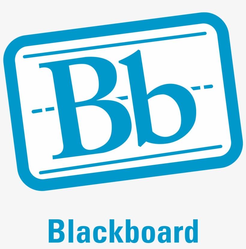 Connect With Us On Twitter, Facebook And Instagram - Blackboard Logo Svg, transparent png #3379625