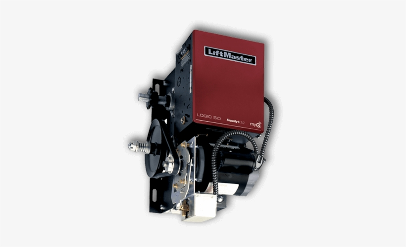 Liftmaster Rbh Electric Garage Door Opener - 2010 Liftmaster Commercial Garage Door Opener, transparent png #3381295