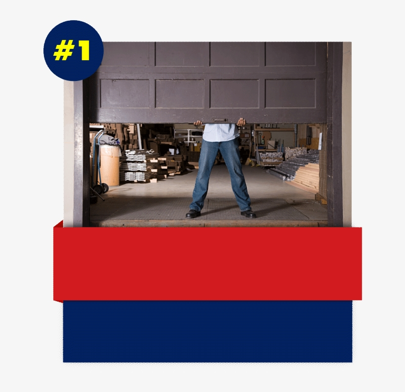Garage Door Stuck - Garage Door Repair Istock, transparent png #3381480