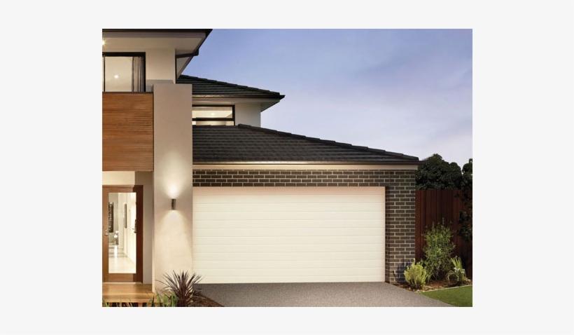 Door Garage Steel Line Panel Lift Slim Line - Sectional Panel Lift Garage Doors, transparent png #3381497