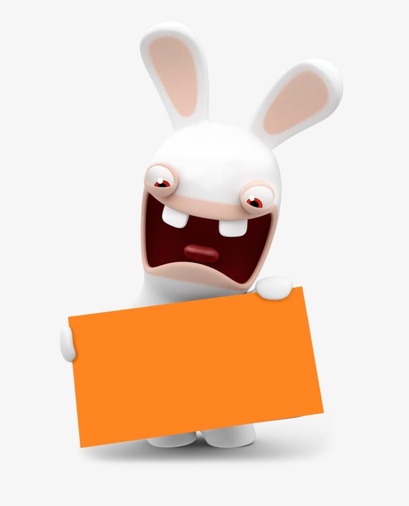 Hero Lapin Cretin Pancarte Free Transparent Png Download