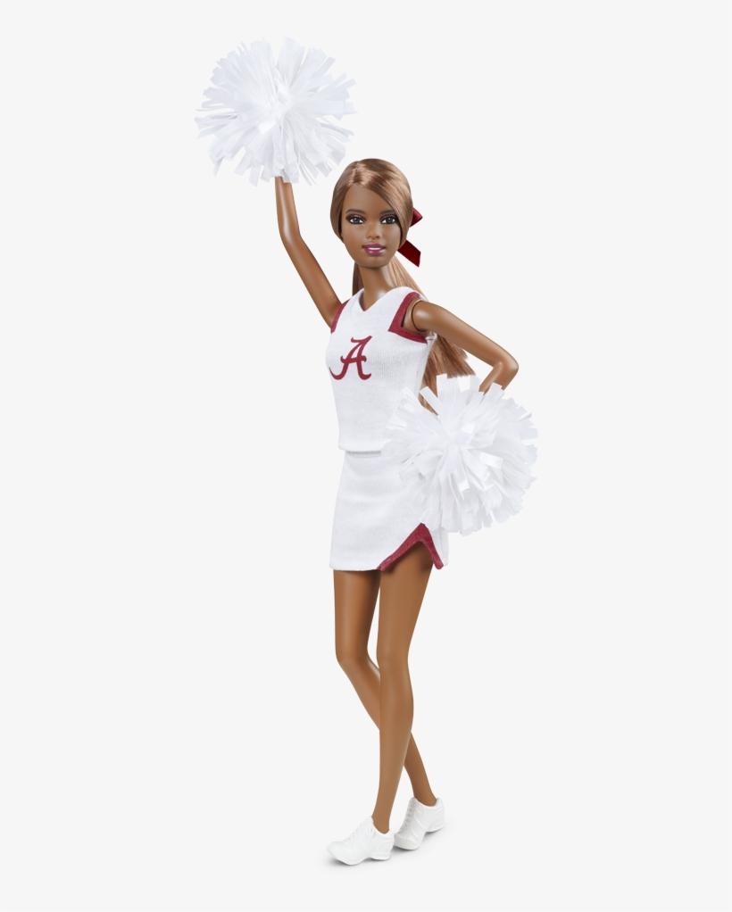 Alabama Cheer - Barbie Collector University Alabama, transparent png #3383513