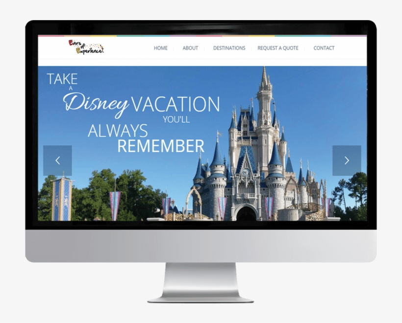 Ears Of Experience Travel Agency A Disney Affiliate - Disney World, Cinderella Castle, transparent png #3386470