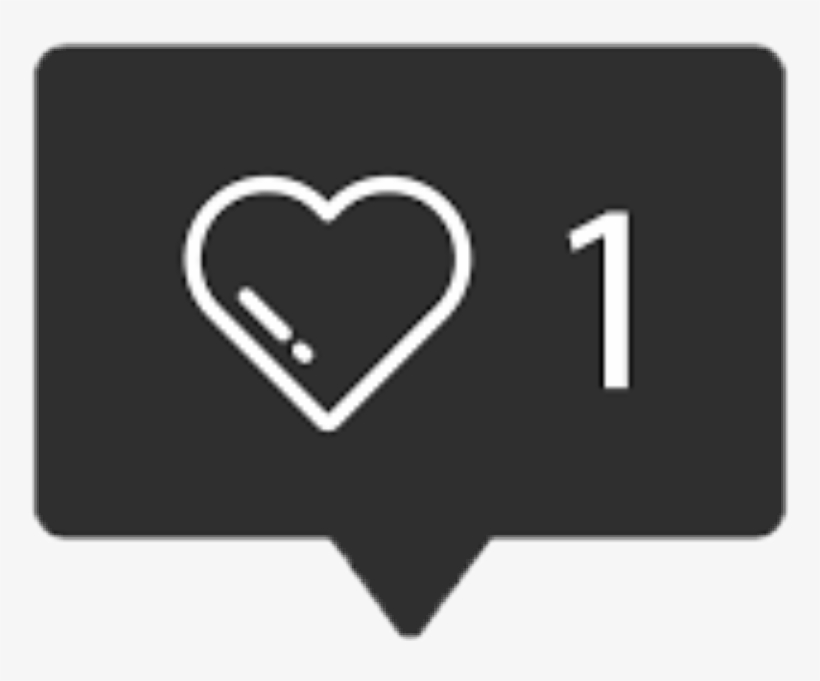 Instagram Like Icon Png Free, transparent png #3387487