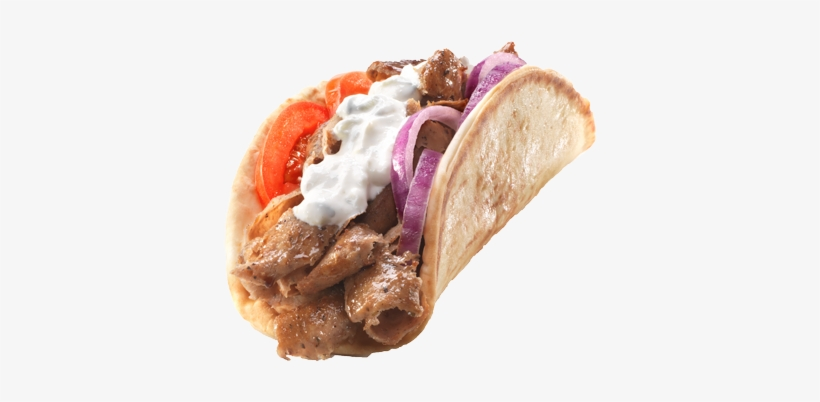 Gyro Sandwich - Apollo Burger Gyro, transparent png #3388720