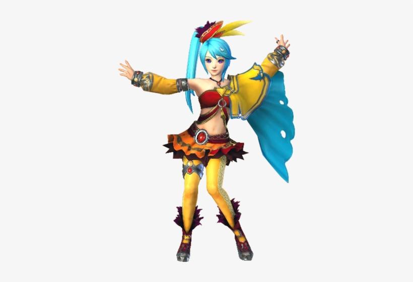 Hyrule Warriors Lana Standard Outfit Lana Hyrule Warriors Legends Free Transparent Png Download Pngkey