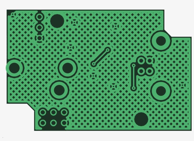 Pcb Copper Pour Hatch Filled - Walt Disney World, transparent png #3390392