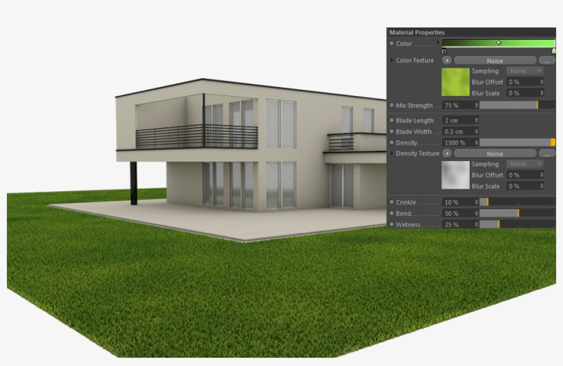 Architectural Grass - Cinema 4d Architectural Grass Selection - Free
