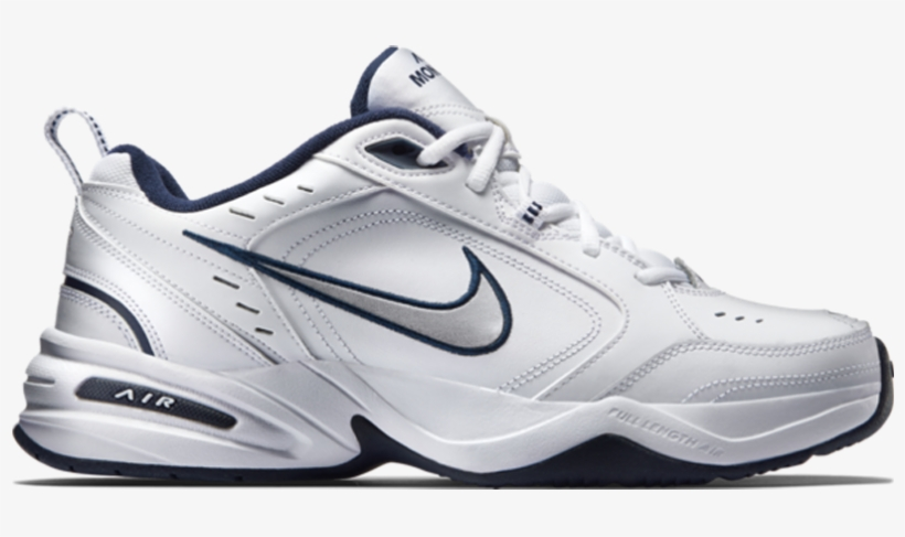 bf18008bccef Nike Men s Air Monarch Iv White metallic Silver - Nike Air Monarch ...