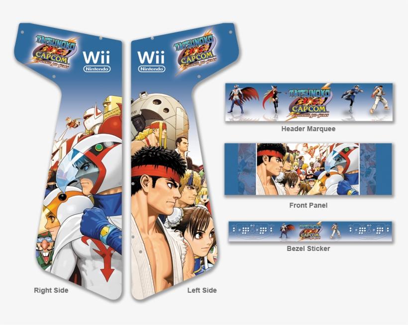 Custom Tatsunoko Vs Capcom Graphics For Xtension Arcade - Ex-display Tatsunoko Vs Capcom Ultimate All Stars Game, transparent png #3396557