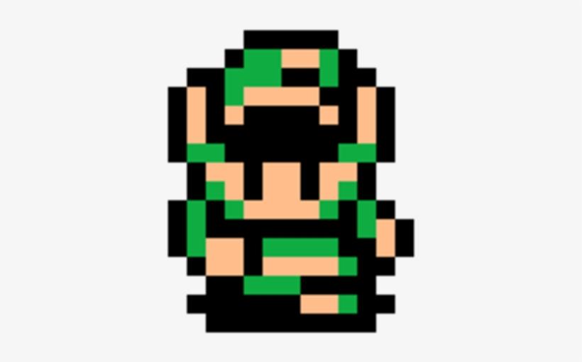 The Legend Of Zelda - Link's Awakening Link Sprite, transparent png #340267