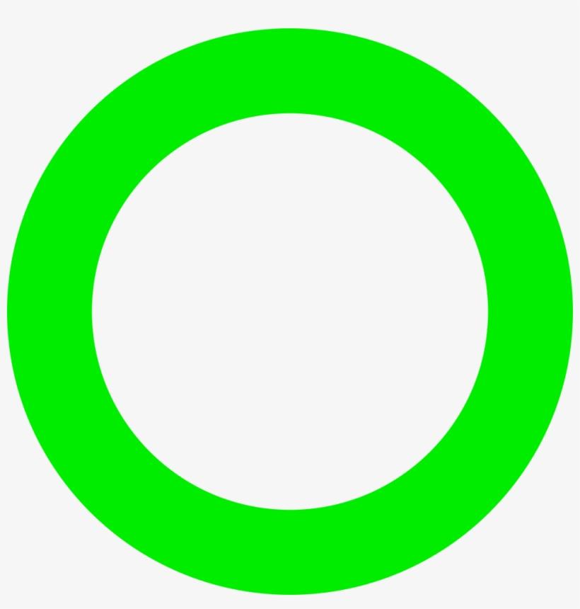 Map Circle Lime - Bright Green Circle Png, transparent png #341579
