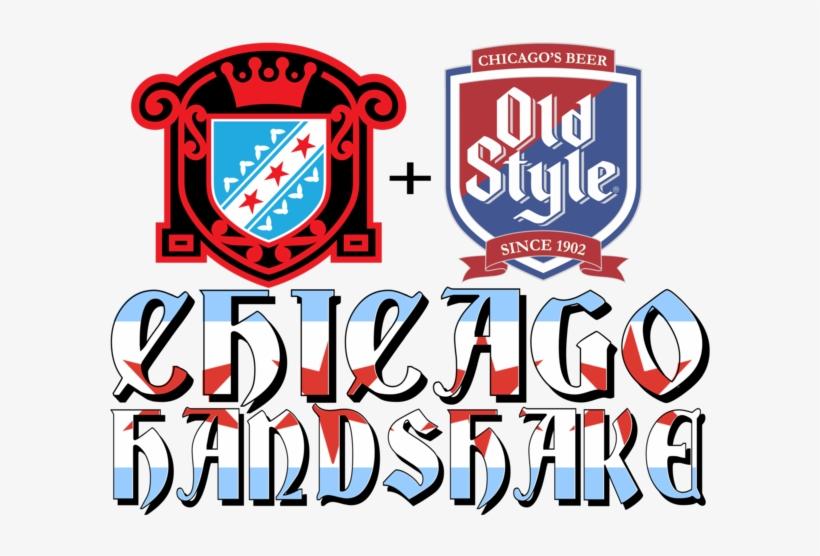 Chicago Handshake - Old Style Light Beer - 24 Pack, 12 Oz Cans, transparent png #341798