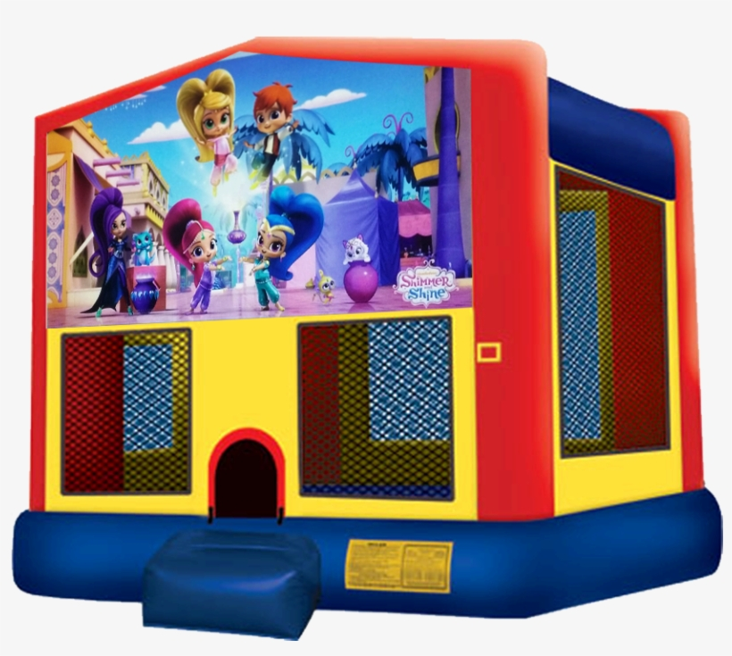 Shimmer And Shine Bounce House Rentals In Austin Texas - Moana Bounce House, transparent png #342598