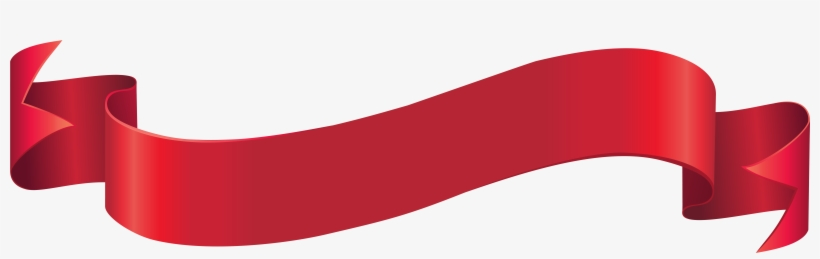 Red Banner Png - Red Ribbon Banner Png, transparent png #342758