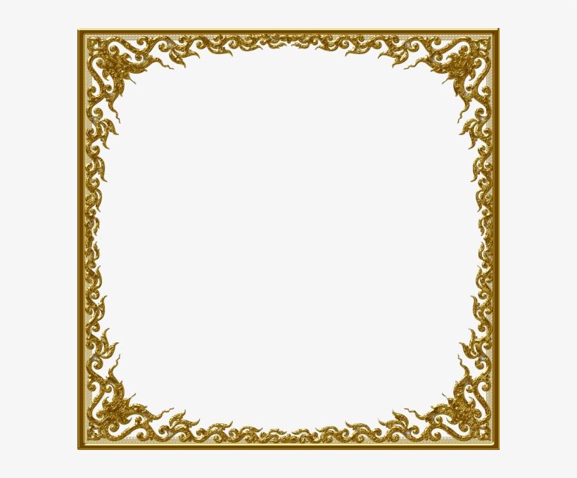 Gold Frame Clip Art Clipart Frames Goud Nc0iqr Clipart - Clipart Frames, transparent png #344455