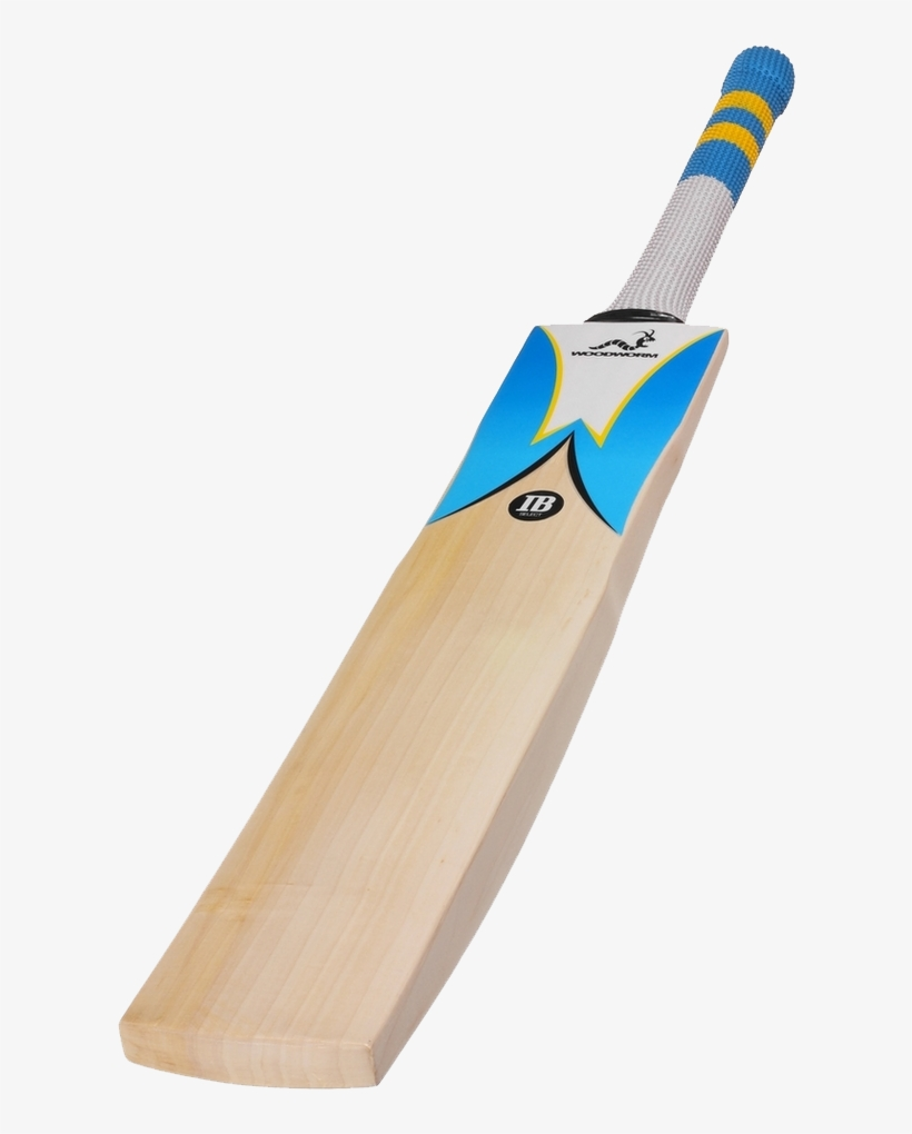 Woodworm Ib Select Grade 1 Junior Cricket Bat - Woodworm Cricket Bat, transparent png #344763