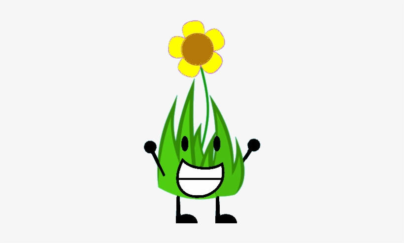 Flower Grassy Sunflower - Bfdi The Battle In Space Intro - Free