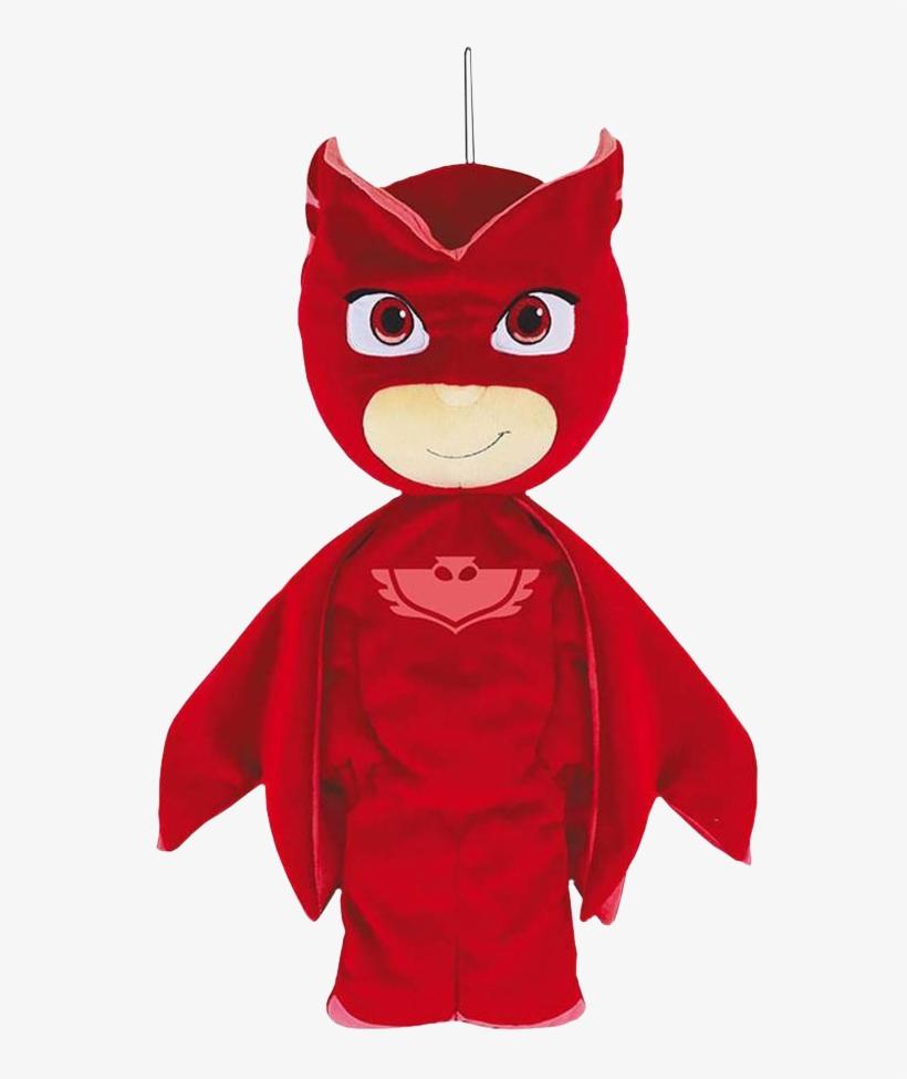 Owlette Pyjama Bag Plush - Pj Masks Owlette Pyjama Bag, transparent png #345704