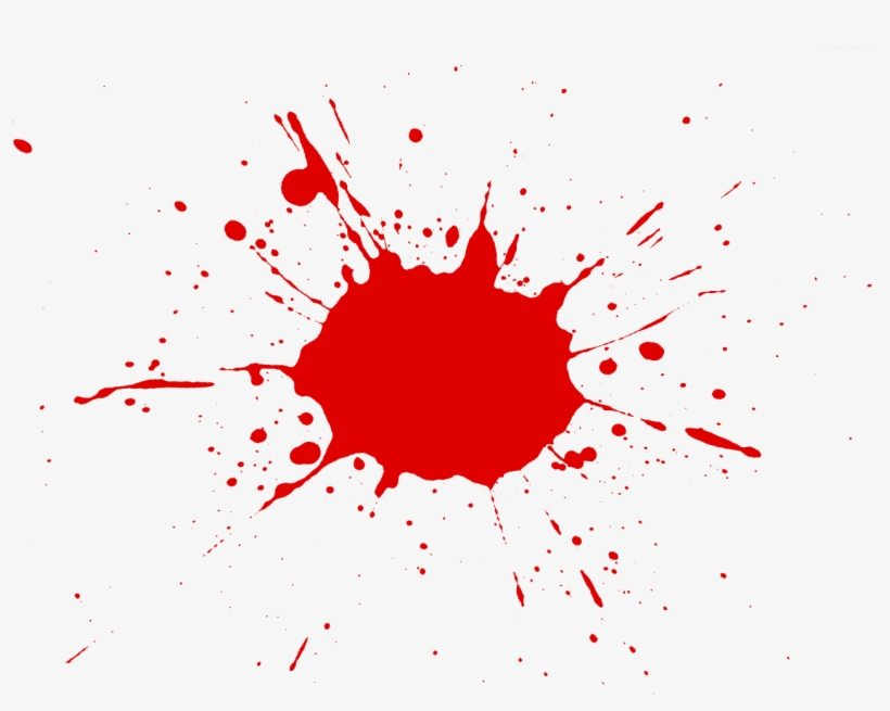 Free Splatter Clipart Image 16551, Splatter Clipart - Red Paint