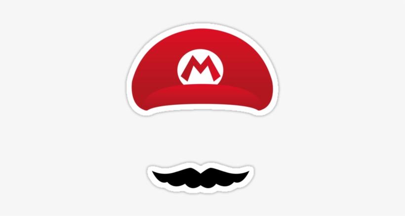 Mario Hat Logo Mario Hat Png Mario Hat And Super Mario Grandson