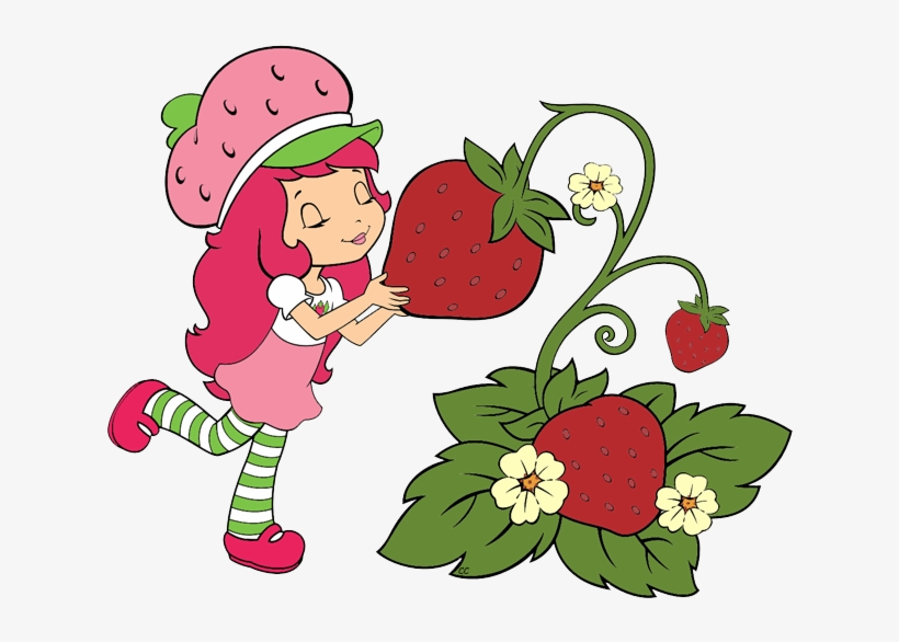 Strawberry Clipart Blueberry Pencil And In Color Strawberry - Strawberry Shortcake Clipart, transparent png #348515