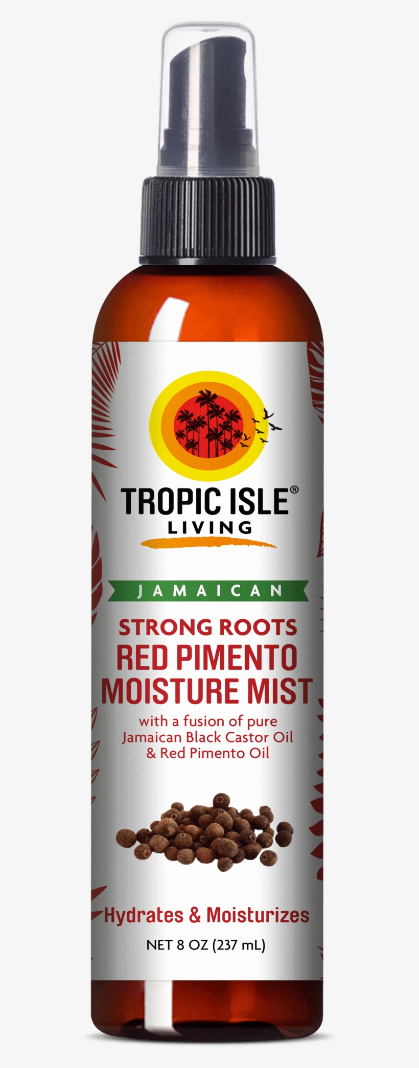Strong Roots Red Pimento Moisture Mist - Tropic Isle Leave In Conditioner And Detangler, transparent png #348670