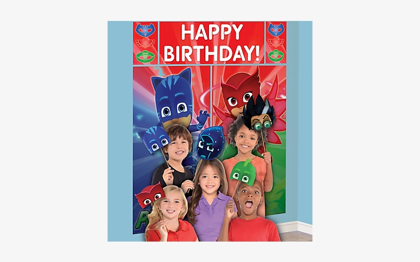 Pj Masks Scene Setter - Pj Masks Scene Setter Uk, transparent png #349740