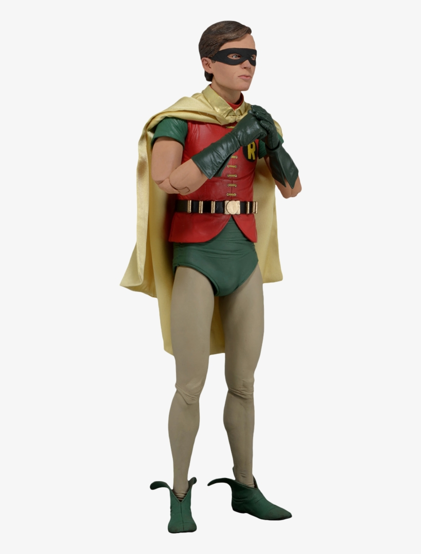 Robin 1/4 Scale Action Figure - Batman (1966): Robin (burt Ward) 1/4 Scale Figure By, transparent png #3402644