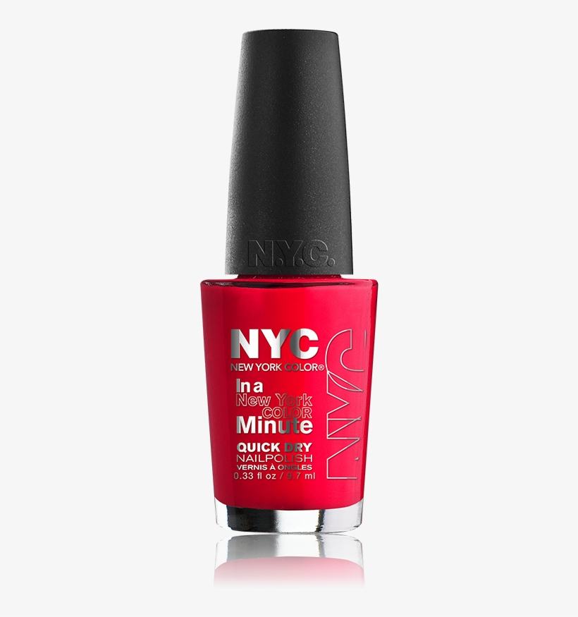 Nyc New York Color In A New York Minute Nail Color, transparent png #3407687