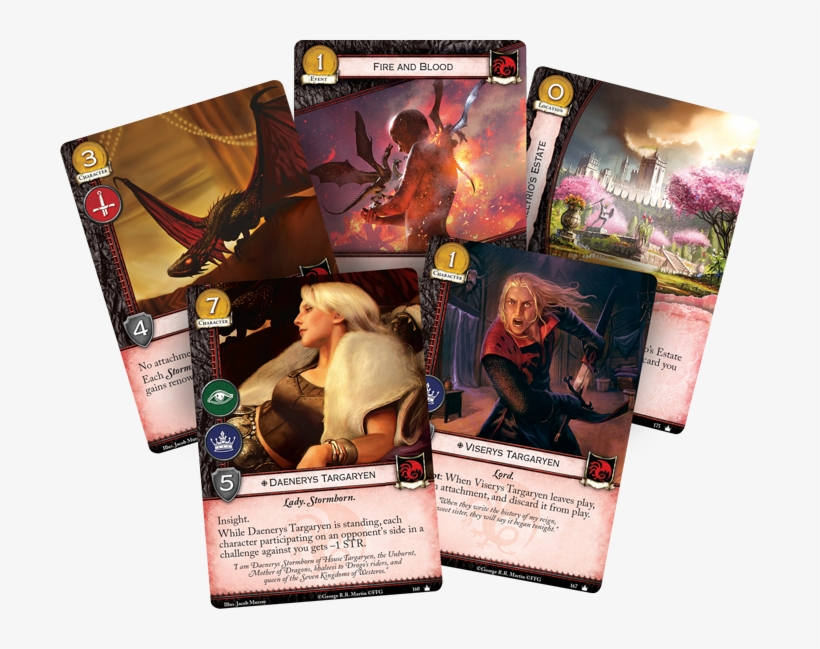 Our Staff Has Put Together A First Blush Analysis Of - Game Of Thrones - Lcg Second Edition Core Set, transparent png #3408940