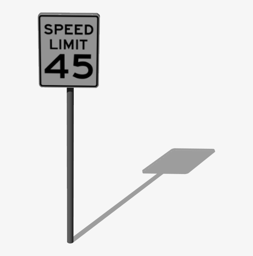 One Way Sign - Cafepress Speed Limit 25 Sign Yard Sign, transparent png #3410229