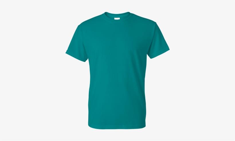 Gildan Dryblend 50/50 T-shirt - T Shirt Design Green, transparent png #3410709