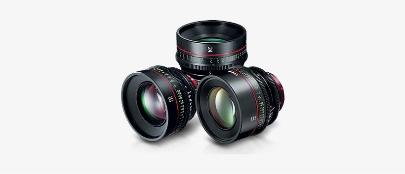 Prime Lenses - Canon Cn-e 135mm T2.2 L F Cinema Prime Lens (ef Mount), transparent png #3412562