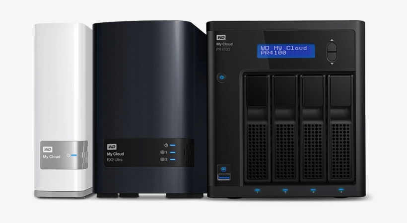That Western Digital Is Concerned About My Security - Wd My Cloud Pr4100 40tb, transparent png #3414307