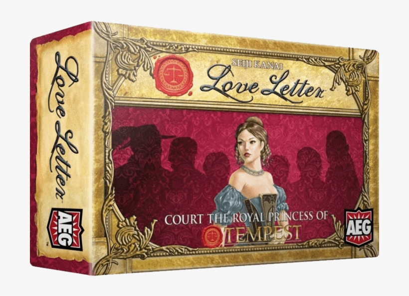 Boxed Edition - Aeg Love Letter Card Game: Boxed Edition, transparent png #3418222
