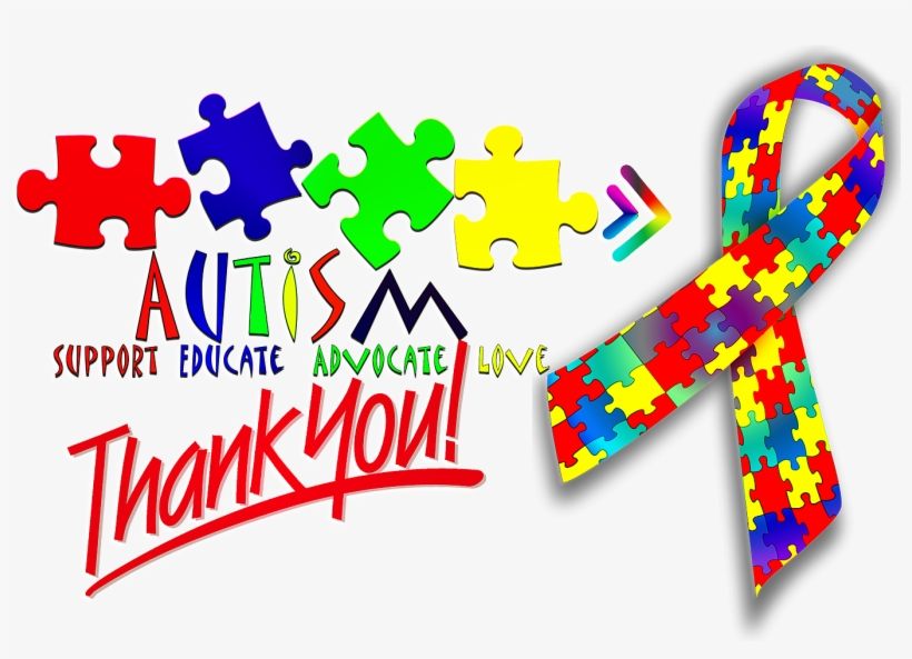 Autism Awareness Week 2013 Just B Cause - Thank You Very Much (uk Radio Version), transparent png #3420763