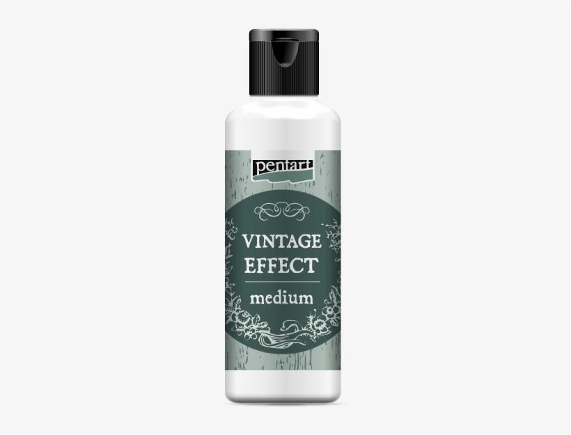 Vintage Medium // This Medium Helps To Obtain Aged, - Vintage Médium Pentart - 80 Ml, transparent png #3421380