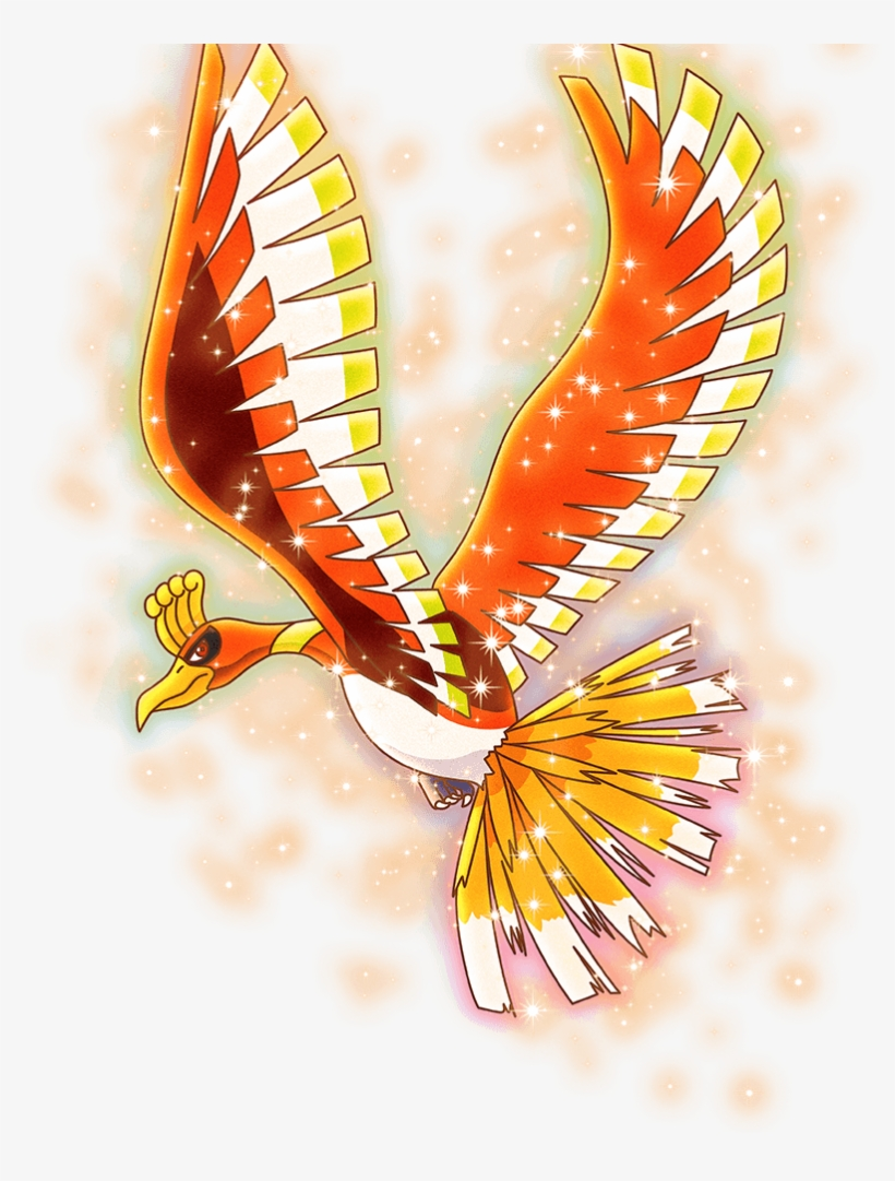 View Ho-oh , - Golden Eagle, transparent png #3423034