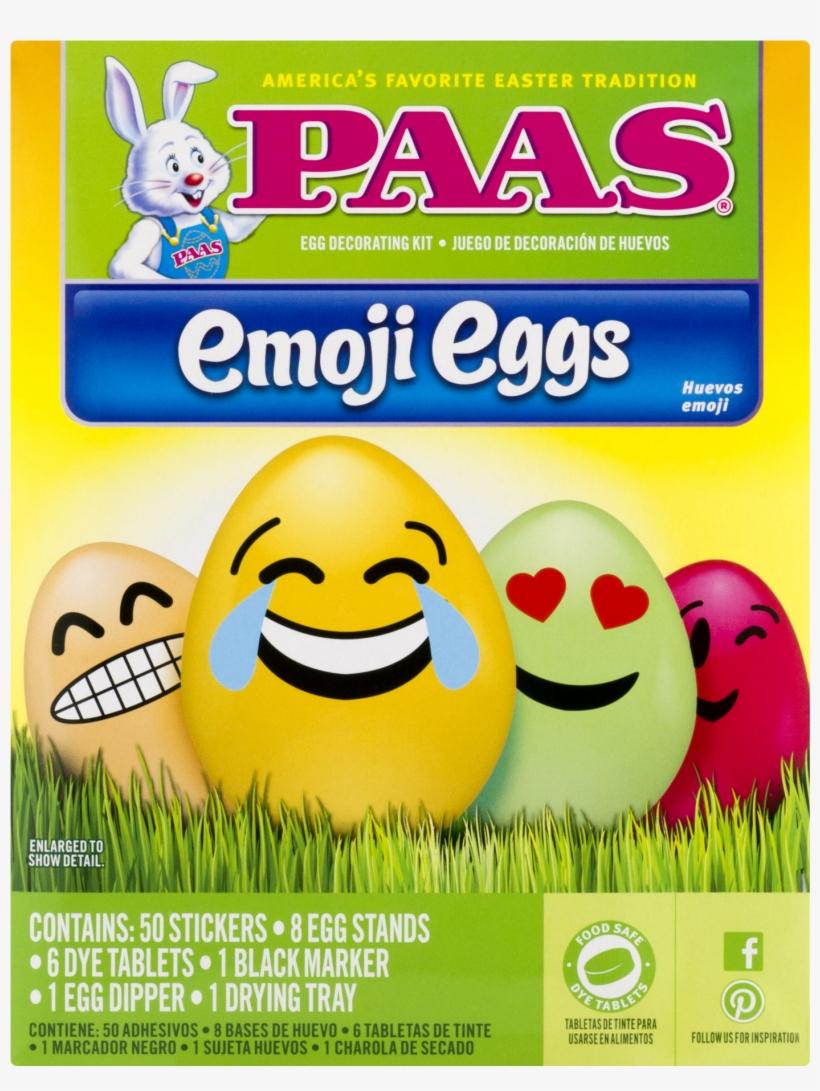 Paas Emoji Eggs Easter Egg Decorating Kit, transparent png #3424385