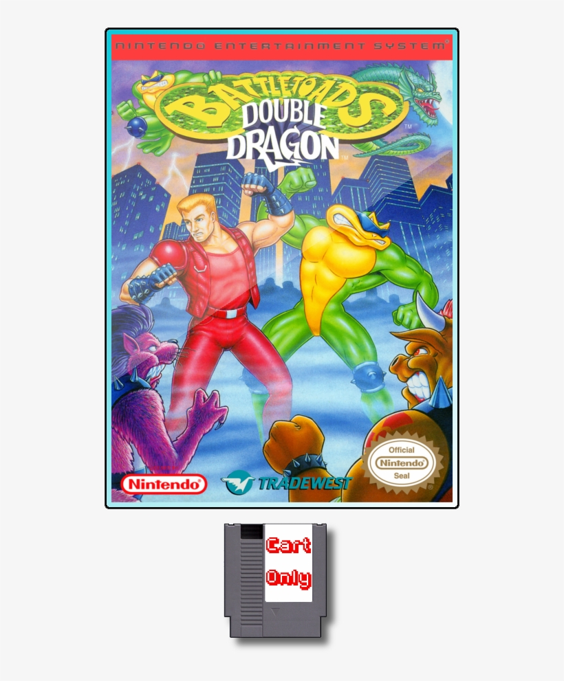 Battletoads Double Dragon Nes Battletoads And Double Dragon Free Transparent Png Download Pngkey