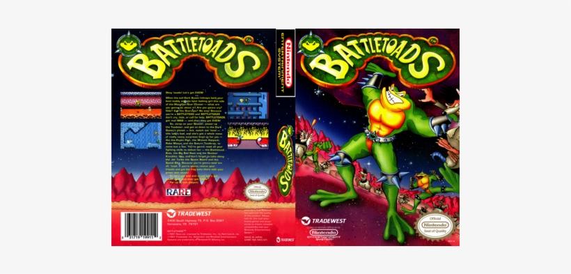 Battletoads Nes Box Art Free Transparent Png Download Pngkey