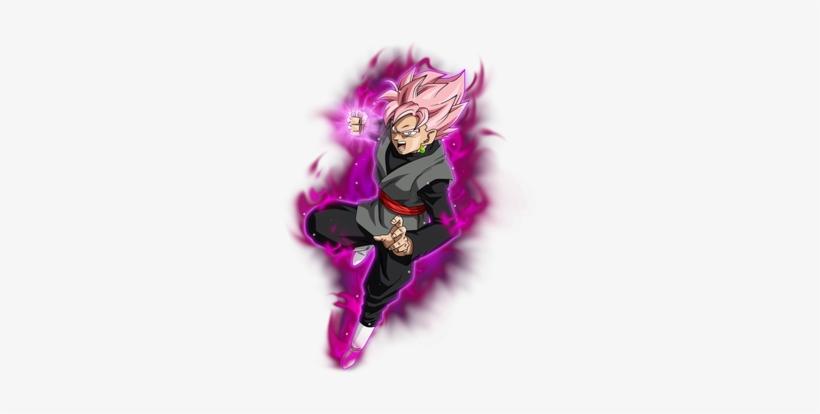 Goku Black Super Saiyan Rose - Black Goku Ssj Rose Ki, transparent png #3425177
